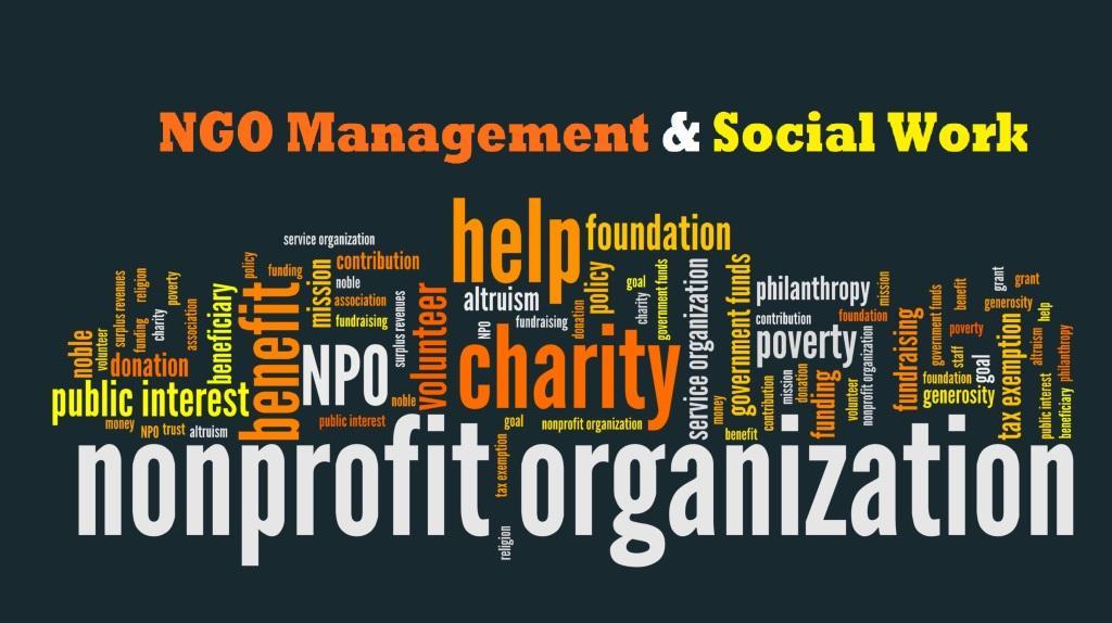 एनजीओ मैनेजमेंट या सामाज कार्य में कॅरियर  ।Career in NGO Management । Social Work